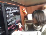 Chaemin likes to draw weird shit on the menu board