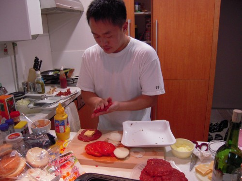 It was just a matter of time before LIK would feature of a photo of me massaging my meat