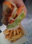Kraze Burger is ok, but way too expensive! Burger + fries = about $11-12