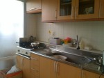 Hapjeong apt's kitchen... not terrible, but not enough to sell me on it
